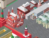 Facebook cover for the page of Moscow Open Data Portal