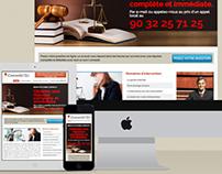 Conseil Juridique en ligne - Responsive Web