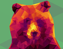 Polygonal Bear