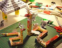 Paper toys Aztèque/Mexique
