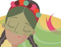 """""""Peruvian Women are beautiful"""" (illustration)"""
