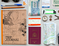 TRIP JOURNAL. Notebook