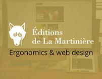 Web site Édition de la Martinière