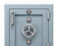 Luxury Steel Safe