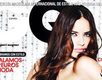 GQ Spain, Adriana Lima.