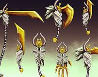 Norse Weapons Concept Art