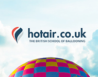 HotAir.co.uk redesign