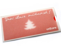 Unibank new year greeting card