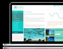 Site Web Observatoire de l'eau Guadeloupe