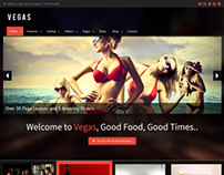 Vegas - Responsive WordPress Theme