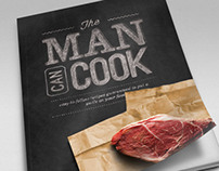 The Man Can Cook - Cookbook