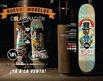 Skateboard VIIVAIN