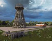 Nikola Tesla's Long Island Laboratory