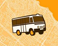 Dolmuş & Minibüs Map of Istanbul