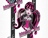 Caloi - PDV Monster High