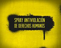 Spray Antiviolación de los Derechos Humanos