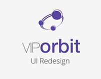 VIPorbit UI Redesign