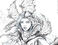 Mother of Dragons - Pencils