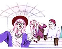 McCafe Illustrations