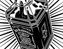 The Genie of the Jack bottle