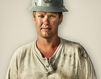 Portraits from The Bakken Oil Fields of North Dakota