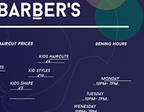 bling barber shops design