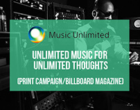 Music Unlimited - Print Campaign