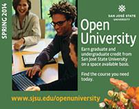 Digital Campaign | Open University 2014