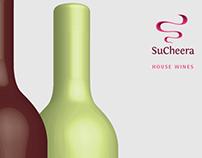 SuCheera, Wine Label Design, 2014