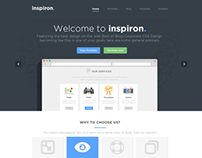 inspiron - Awesome Multipurpose PSD Template