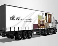 Masonite Truck Graphics