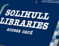 Advertising and product design for Solihull Libraries
