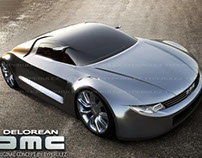 DMC delorean original concept