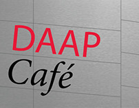 DAAP Redesigned Cafe & Art Supply Store Signage