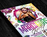 Mardi Gras / Carnival Night Flyer Template