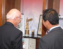 Dr. Elwood Jensen Memorial Exhibit