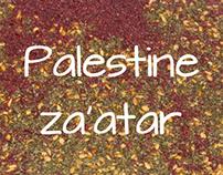 Palestine za'atar