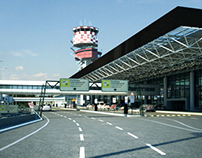 3d airport- video