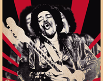 Are You Experienced ~ Jimi Hendrix poster