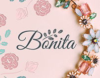"Branding and packaging design for ""Bonita"" Accessories"