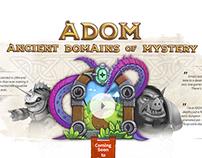 ADOM.de - Redesign