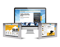 SAP Cloud Services Microsite