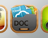 AcerCloud App Icons Design @Acer