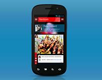 Mobile UI (Concept)