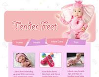Baby Website Design