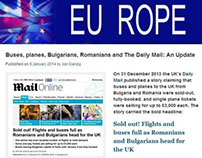 Buses, planes, Bulgarians, Romanians and The Daily Mail