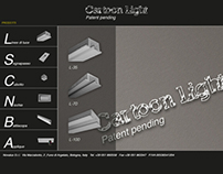 cartoon light web site