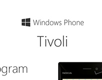 Windows Phone - Tivoli (concept app)