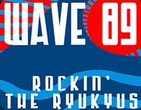 Wave 89 Logo redesign