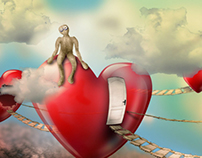 Illustration, the path of love